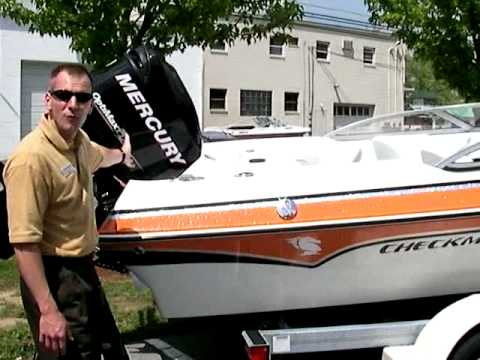 2009 Checkmate 2100 and 2000 BR at Peters Marine Service