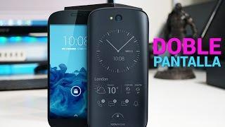 Un teléfono, dos pantallas: SORPRENDENTE ૮( ᵒ̌▱๋ᵒ̌ )ა