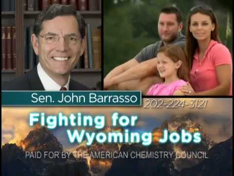 Support for Sen. John Barrasso (R-WY)