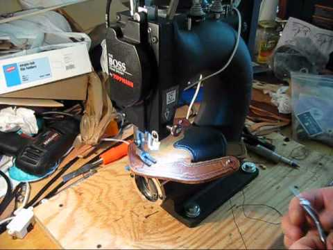 Bernie Holster Creating A ConcealMax Pro Holster On A Tippmann Boss Extraordinary Tippmann Boss Sewing Machine