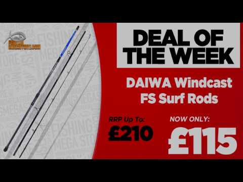 Deal Of The Week | Daiwa Windcast FS Surf Rods | Fishing Mega Store