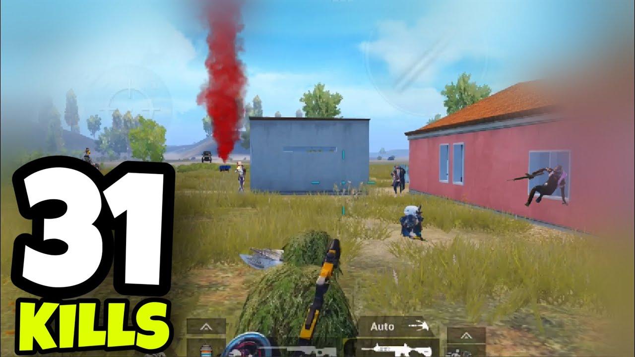 BEST RUSH GAMEPLAY!!!   31 KILLS SOLO VS SQUADS   PUBG MOBILE