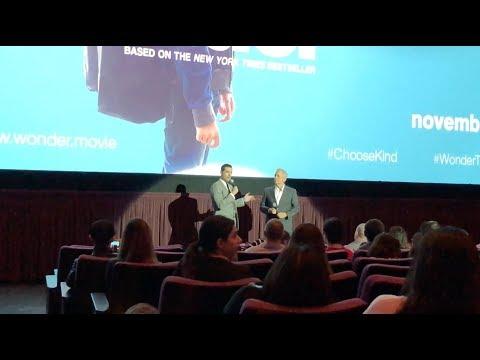 WONDER World Premiere: Todd Lieberman & David Hoberman talk 6 Year Journey to get Film Made