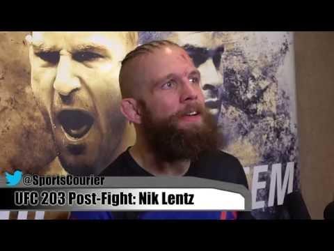 Nik Lentz on Big UFC 203 Win, Fighting BJ Penn and Conor McGregor