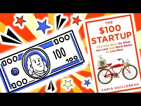 The $100 Startup Summary - Chris Guillebeau - Animated Book Summary