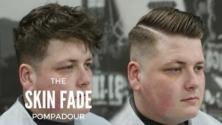 Mens Hairstyle || Side Part || Pomade