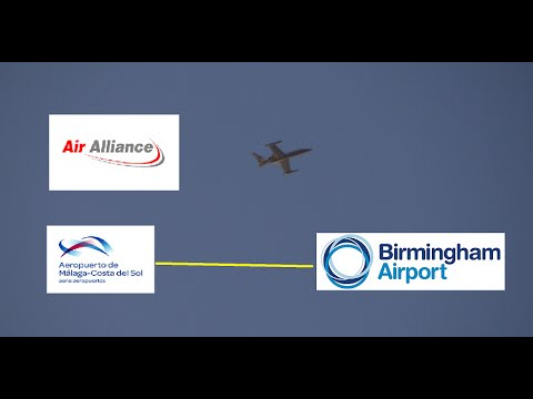 Air Alliance Express Flight 117 (Malaga to BHX)