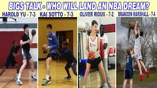 WHO AMONG THE GIANTS WILL LAND AN NBA DREAM?