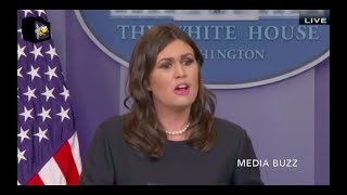 Sarah Sanders White House Press Briefing 11/17/17 thumbnail