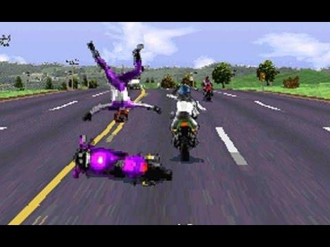 Game kinh điển – Download hướng dẫn chơi game đua xe RoadRash – Tuổi thơ dữ dội