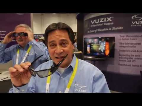 Vuzix next generation Smart Glass design