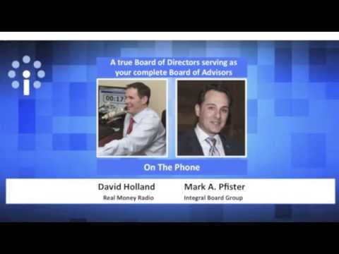 Integral Board Group - Radio Interview - Real Money with David Holland