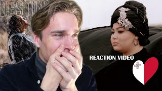 Reaction video Destiny - All Of My Love Malta  Eurovision 2020