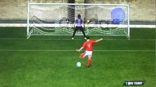 Как сделать точный удар в FIFA 12  с пенальти(строго меня не оценивайте это мое первое видео., 2012-09-17T06:48:25.000Z)