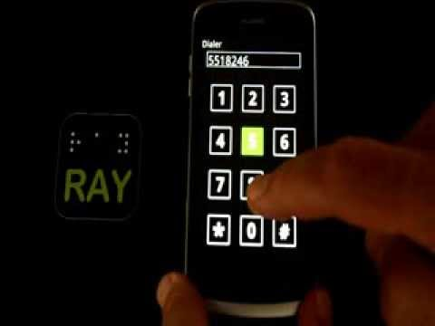 Ray Blind-Accessible Smartphone - MaxiAids.com