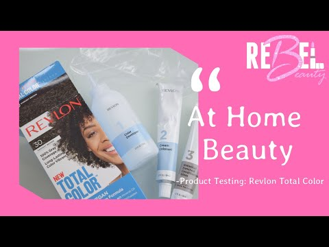 Product Testing: REVLON TOTAL COLOR Hair Dye!