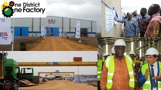 Ghana Becomes Owner Of Largest Steel Factory In Africa Under 1D1F Policy