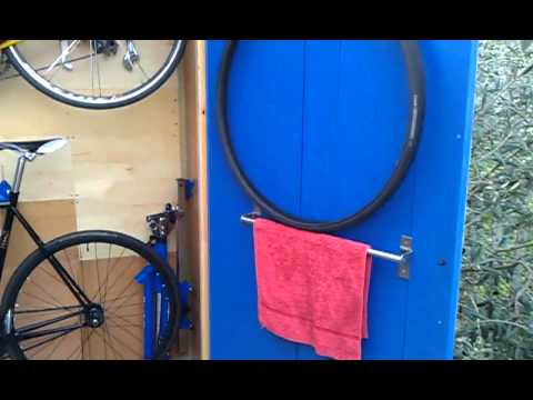 Bicycle storage shed solution, built in East Ham London.