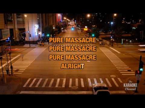 Pure Massacre in the style of Silverchair | Karaoke with Lyrics