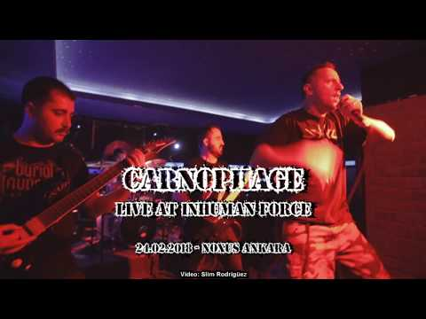 CARNOPHAGE - Live at Inhuman Force - 24.02.2018 - Noxus Ankara