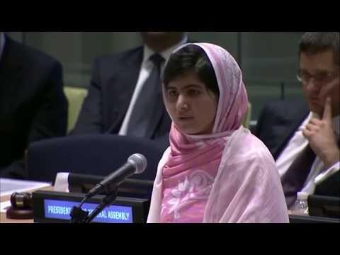 Education kills terrorism; Malala Yousafzai Quotes