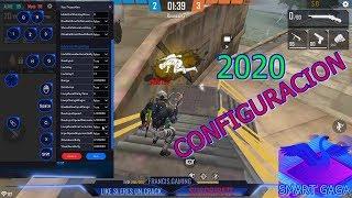 Configuración 2020 smart gaga free fire ( clips Francis GamingYT )
