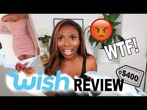 I SPENT $400 ON WISH APP...IS THIS WEBSITE A JOKE? WTF!
