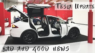 Bad News Tesla Model X Update