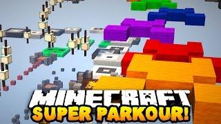 Minecraft SUPER PARKOUR! (New Jumps & Shaders Mod!) w/PrestonPlayz & Kenny