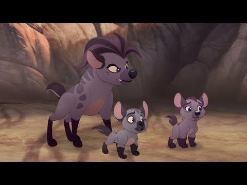 Lion Guard: Janja's attack! + Thurston's Stripes | Rescue in the Outlands HD Clip