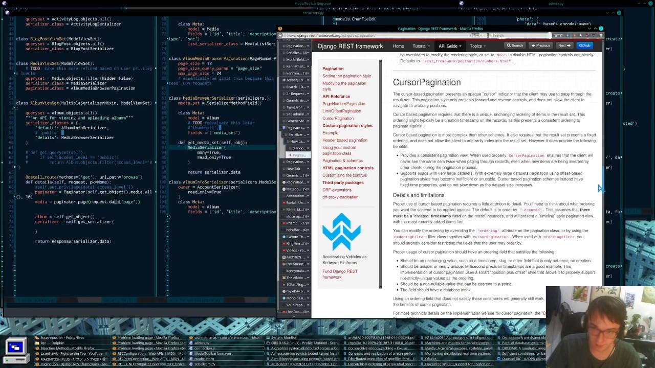 Media Center   Python/Django/JavaScript/ES6 Live Coding - Episode 6 -  YouTube