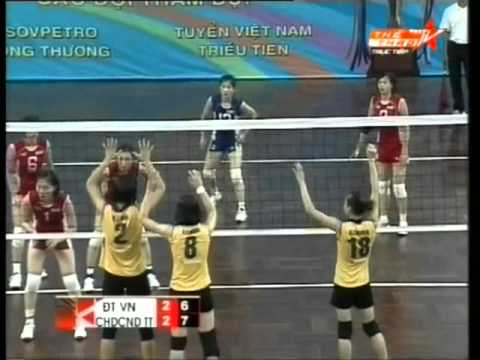 Set 5 Viet Nam vs Trieu Tien at VietsoPetro Cup 2012