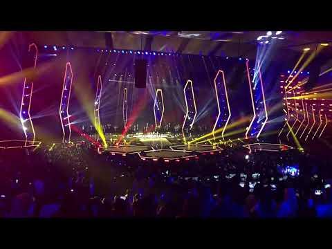 DANGDUT MASA KINI!! Via Vallen ft. Boy William-Sayang LIVE at NET 5.0 Indonesian Choice Awards 2018