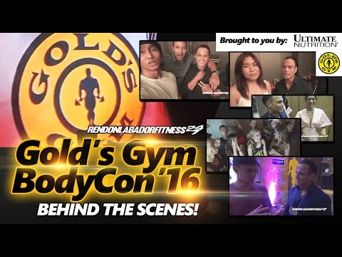 GOLD'S GYM BODYCON 2016: Behind The Scenes!