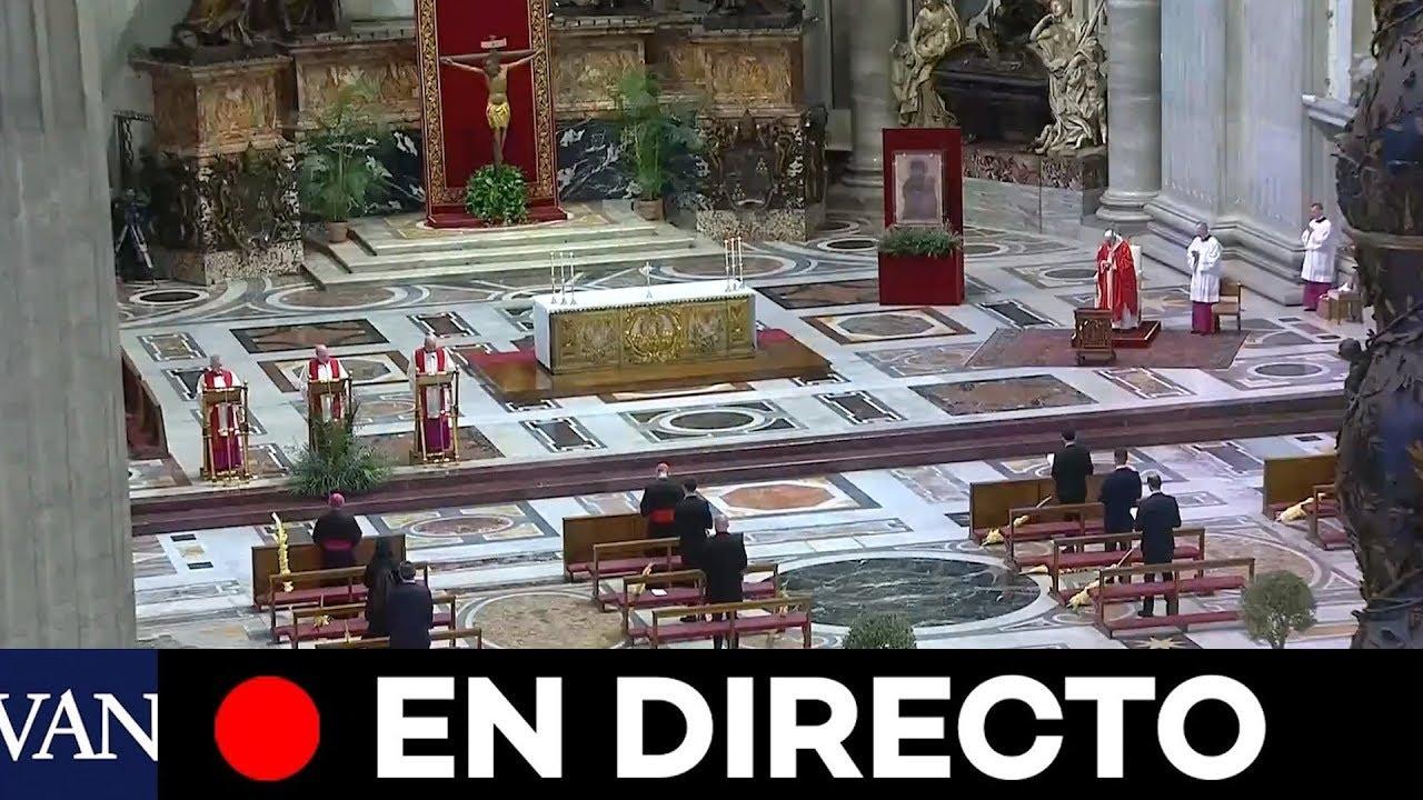 El papa Francisco celebr sin pblico la misa del Domingo de ...