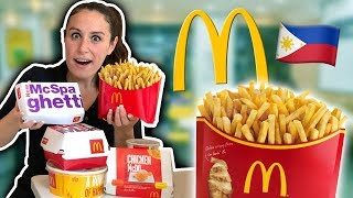 The MOST INCREDIBLE McDonald's in the Philippines ??