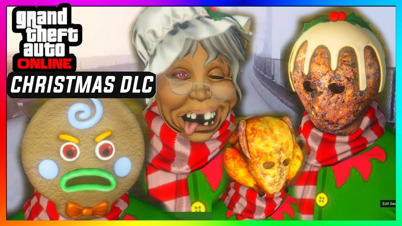 Gta 5 Online Christmas Masks.Gta 5 Online Christmas Dlc All New Masks Bad Santa Claus Gangsta Elf Snowman Reindeer Etc