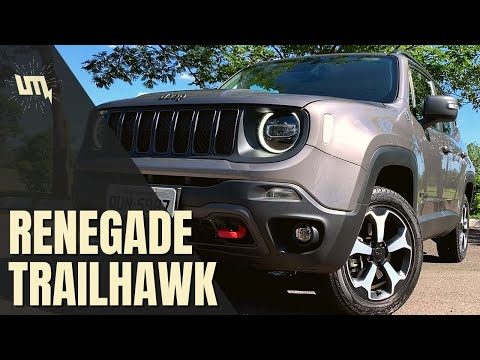 RENEGADE TRAILHAWK: bom de trilha ou Jeep de shopping?