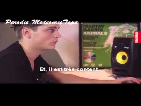 Med Comic Tape - Martin Garrix In Studio (Parodie)