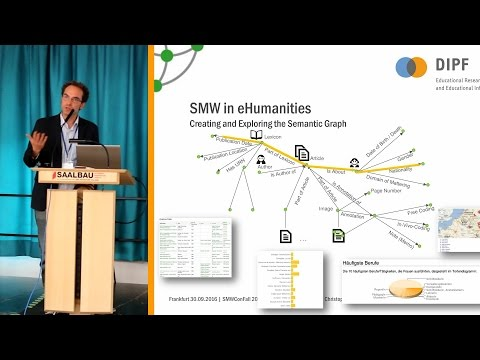 Semantic MediaWiki in Humanities and Educational Research - Christoph Schindler, DIPF