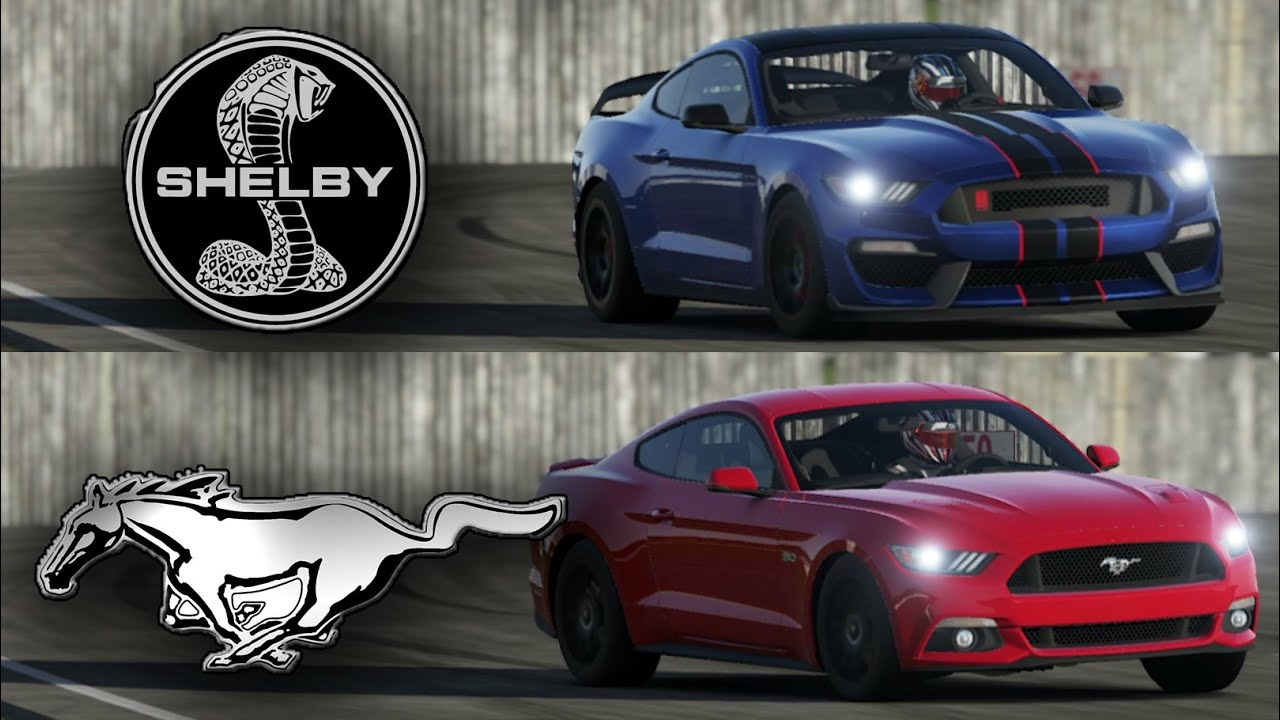 2016 Shelby Mustang Gt350 Vs 2015 Ford Mustang Gt Top
