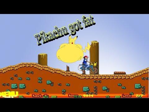 Ο Pikachu πάχυνε   Pokemon Bike