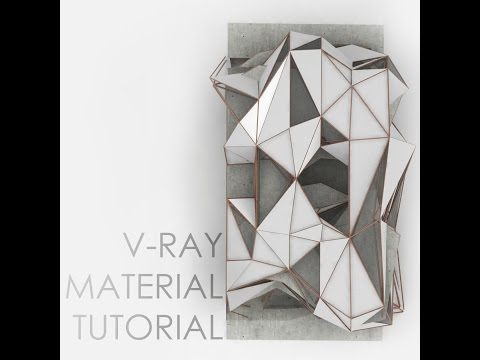 V-Ray Material Mapping And Rendering For Rhino Tutorial