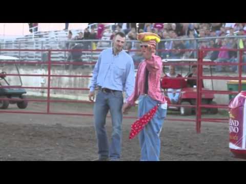 Rodeo clowning around at the Crow Wing Co. Fair - Brainerd Dispatch MN