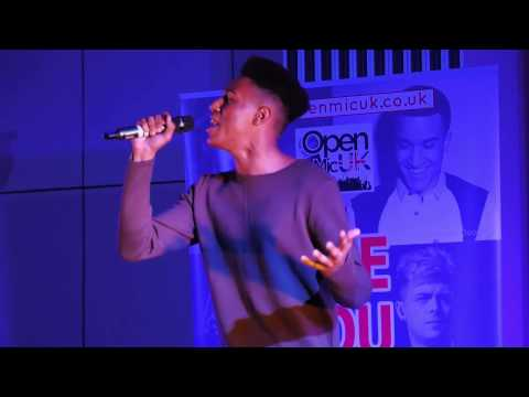 STONE COLD – DEMI LOVATO performed by REECE MCCONNELL at Open Mic UK singing contest