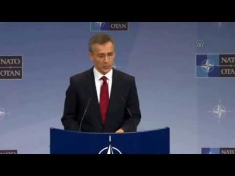 Secretary General of NATO Stoltenberg in Brussels