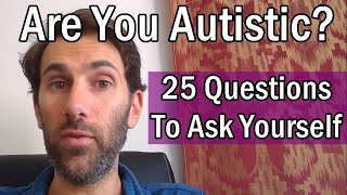 Questions to ask about autism