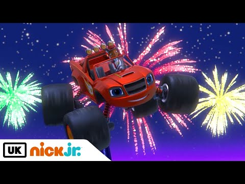 New Channel! Blaze and the Monster Machines | Midnight Mile | Nick Jr. UK