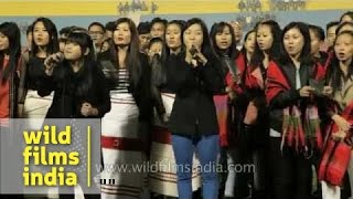 Superb choir from Northeast India sings