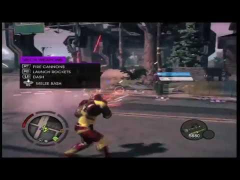 Saints Row 4: Iron Man Glitch